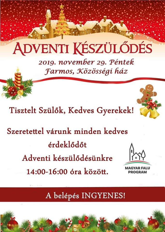 advent farmos 2019